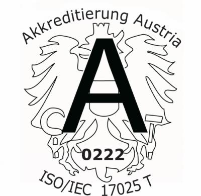 Akkreditierung nach EN 17025