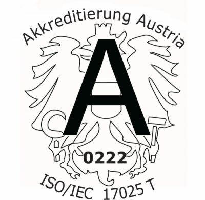 Accreditation to EN 17025