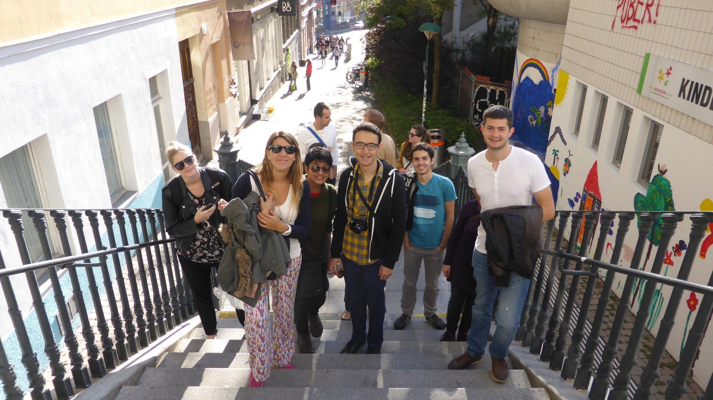FH JOANNEUM - Wienexkursion für Austauschstudierende