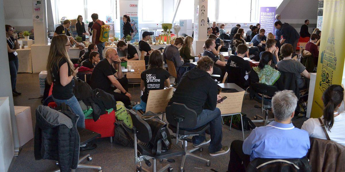 Wissen ist teilbar – eine Grundeinstellung bei Barcamps.