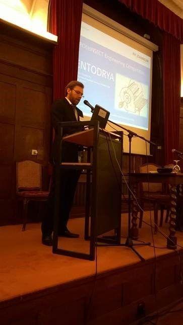 Das Trocknungskonzept von Simon Schantl mit dem Namen ENTODRYA wurde von den Verantwortlichen von PROteINSECT ausgezeichnet.