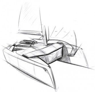 The project aims to develop visions of the yacht of the future with a horizon of 2025.