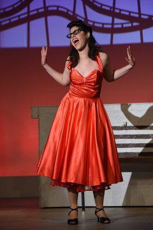 Georgina Gutierrez Glinz bei einer Musicalaufführung.