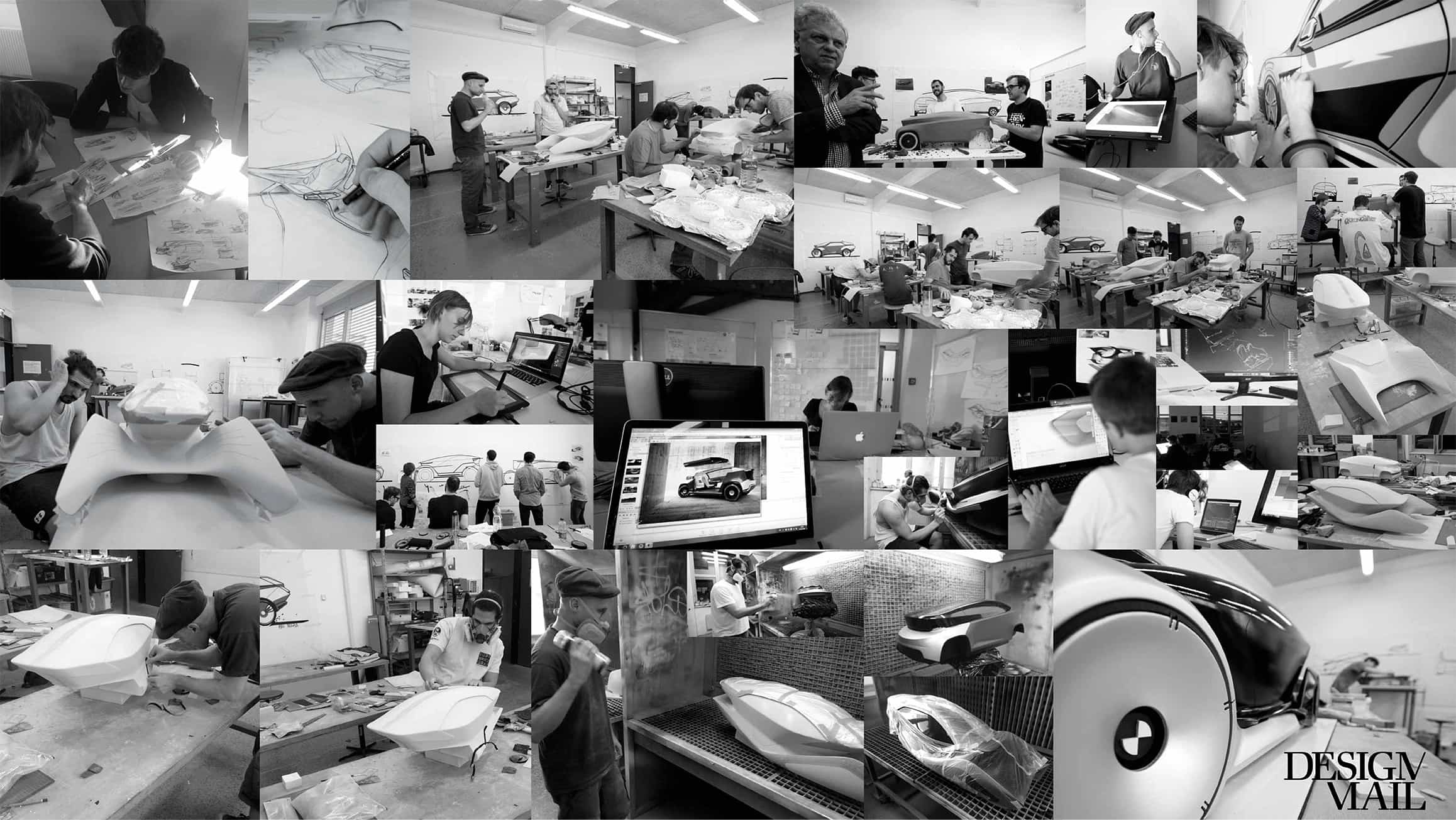 In cooperation with BMW Group Design Munich some students designed this one for their master's degree programme.