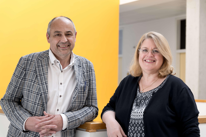 Erwin Zinser und Moenie Van der Kleyn leiten das Forschungszentrum.