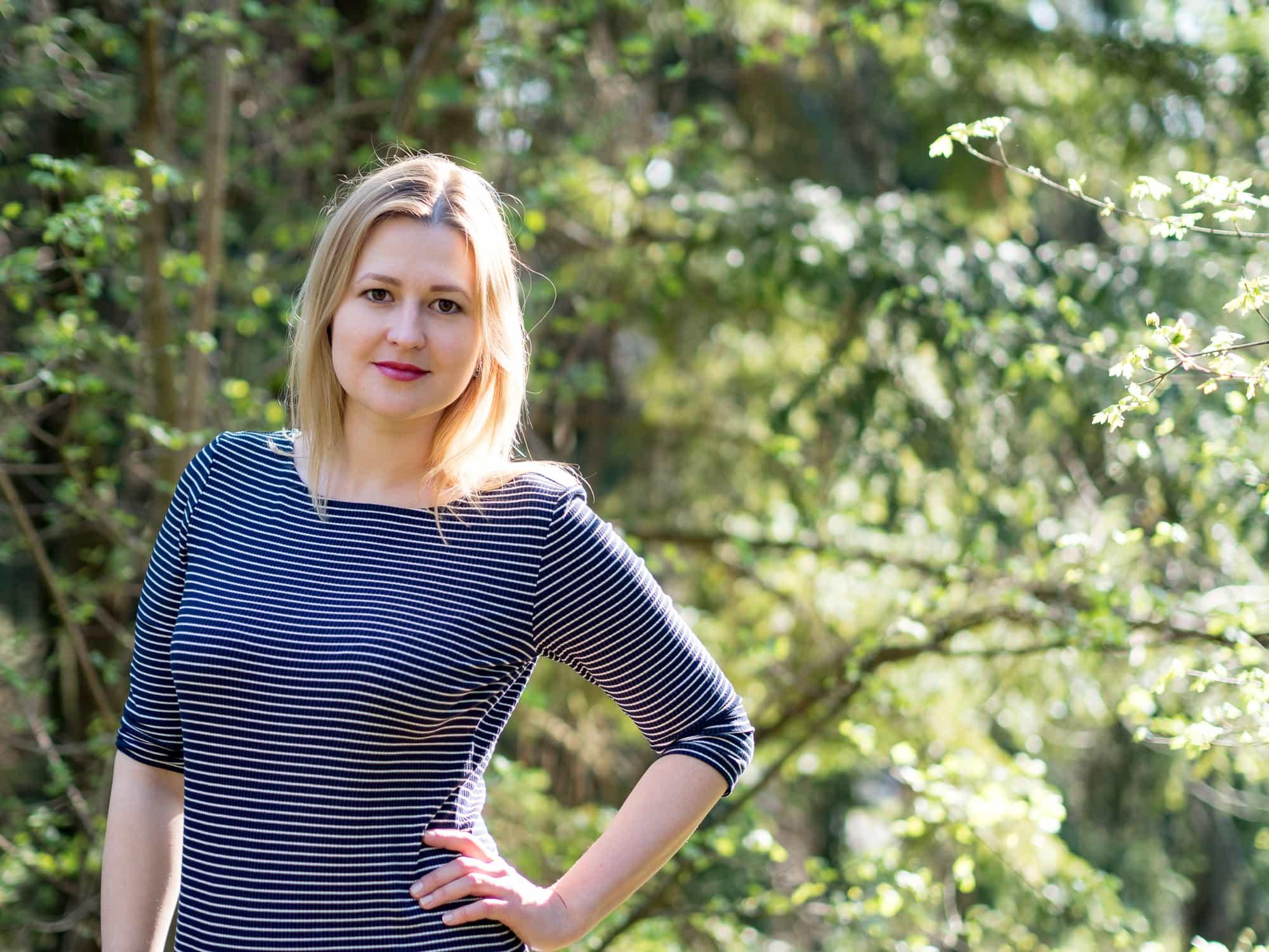 "Olga Scholl studiert ""International Hospitality and Spa Management""."