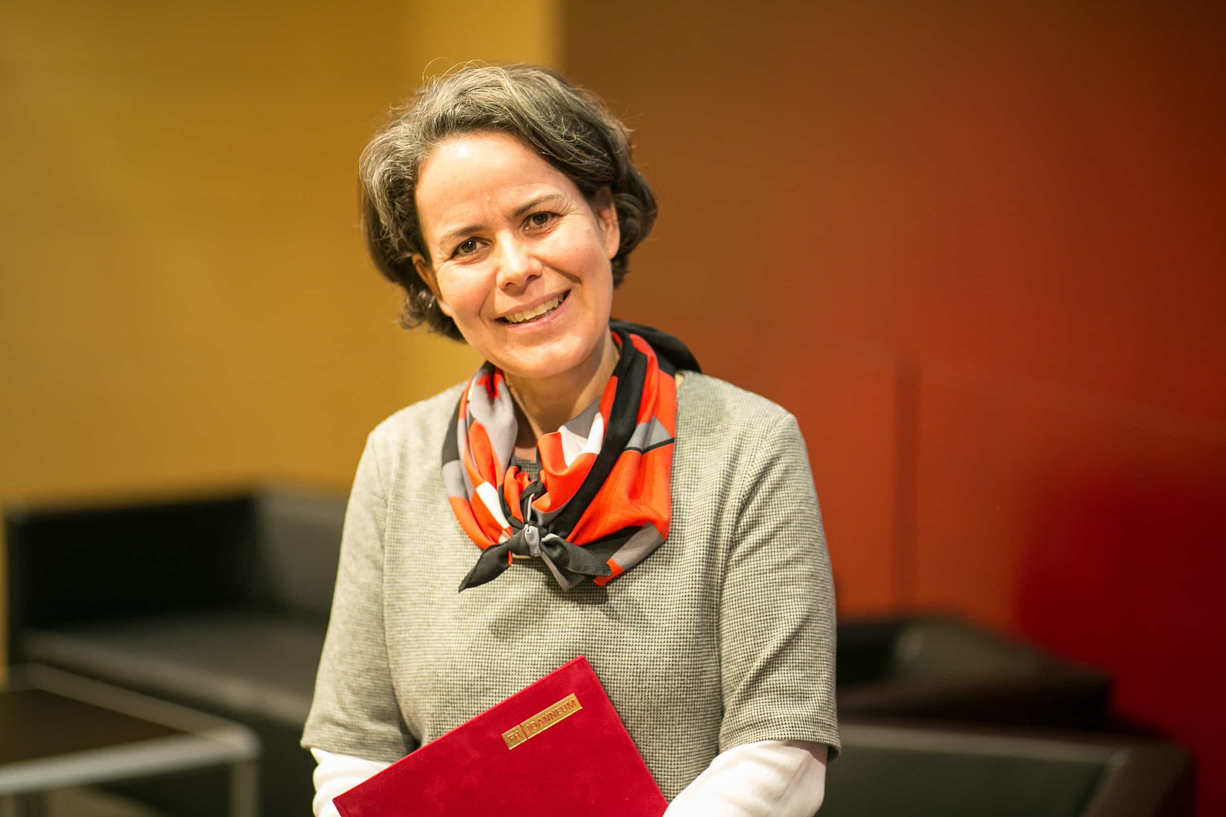 Porträt Ulrike Zankel-Pichler.