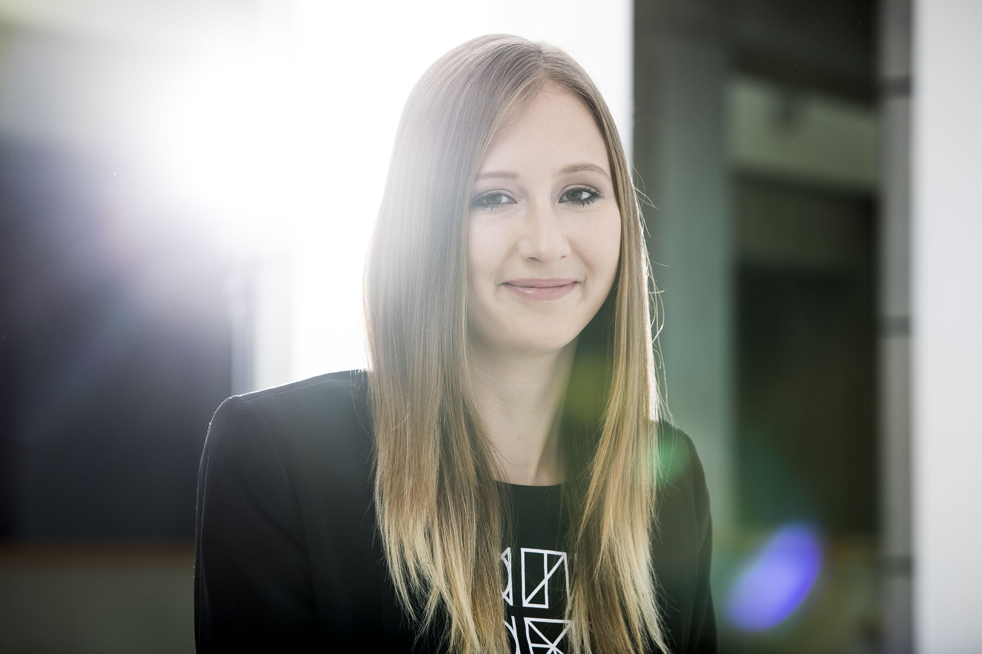 Studentin Barbara Kienzl.