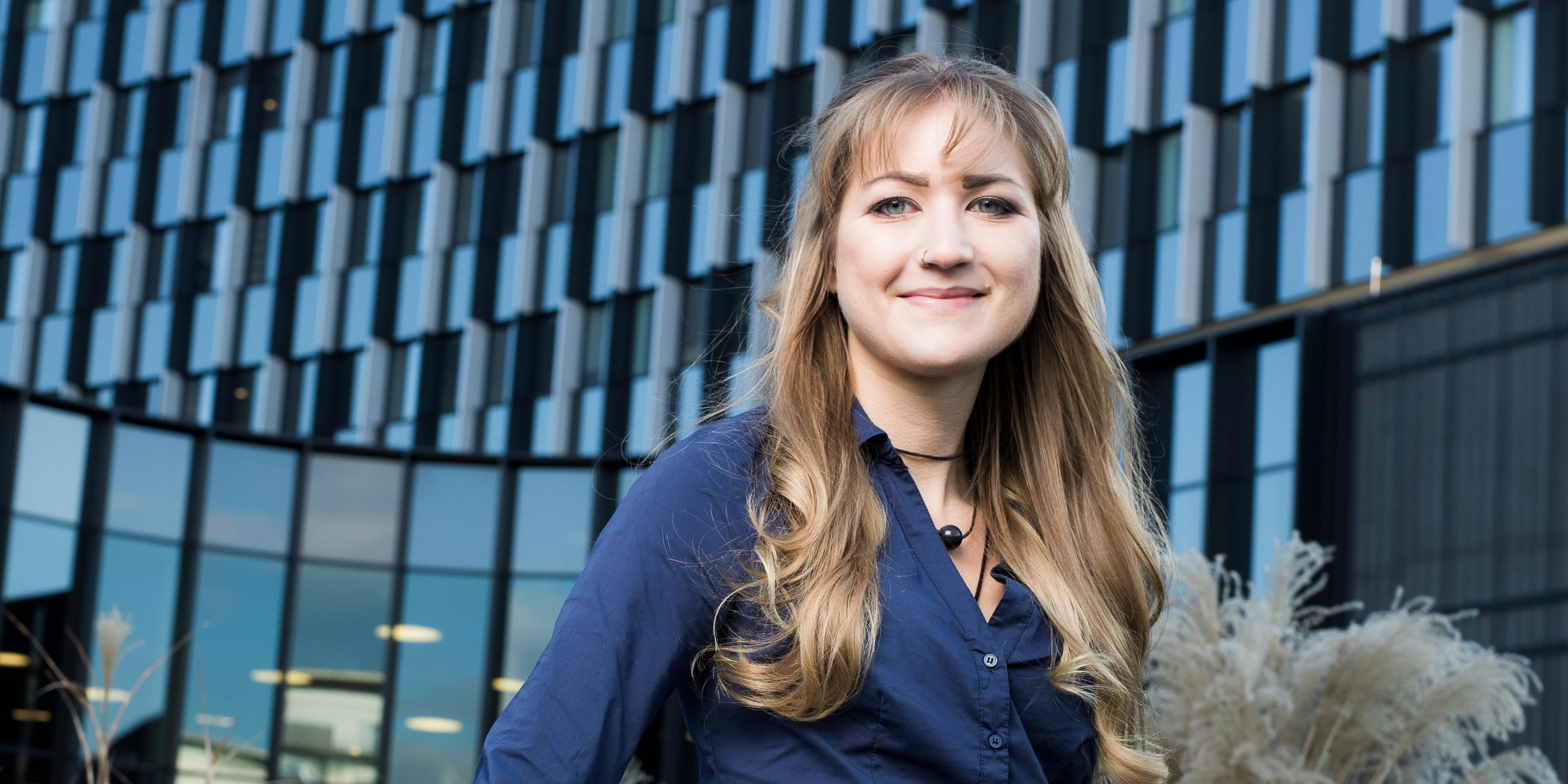 Vom Praktikum zur Fixanstellung: Victoria Binder arbeitet seit ihrem Studienabschluss als Bautechnikerin.