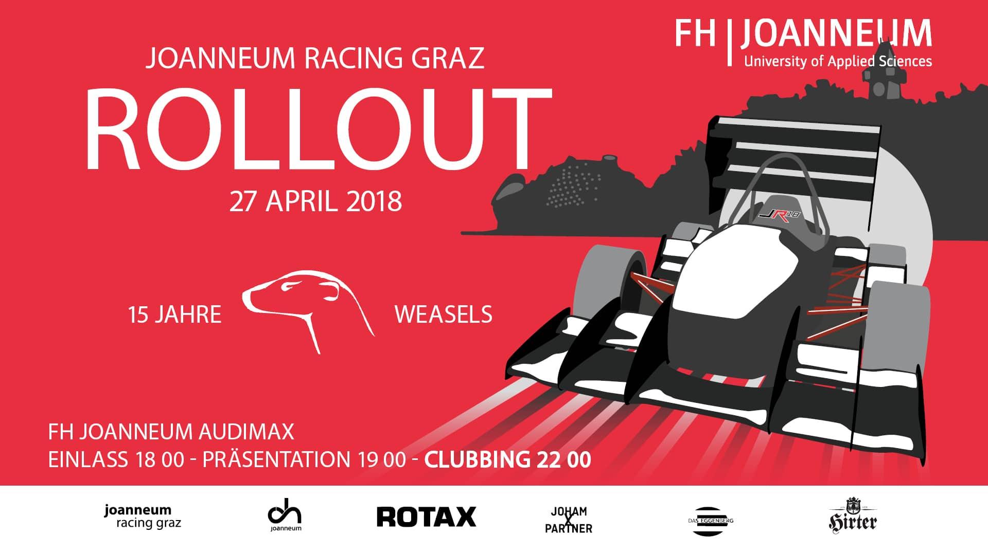 Einladung zum Rollout 2018