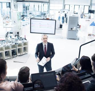 Lehre im Smart Production Lab