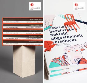 Red Dot Award 2018: Fünf Auszeichnungen für das Institut Design und Kommunikation 1