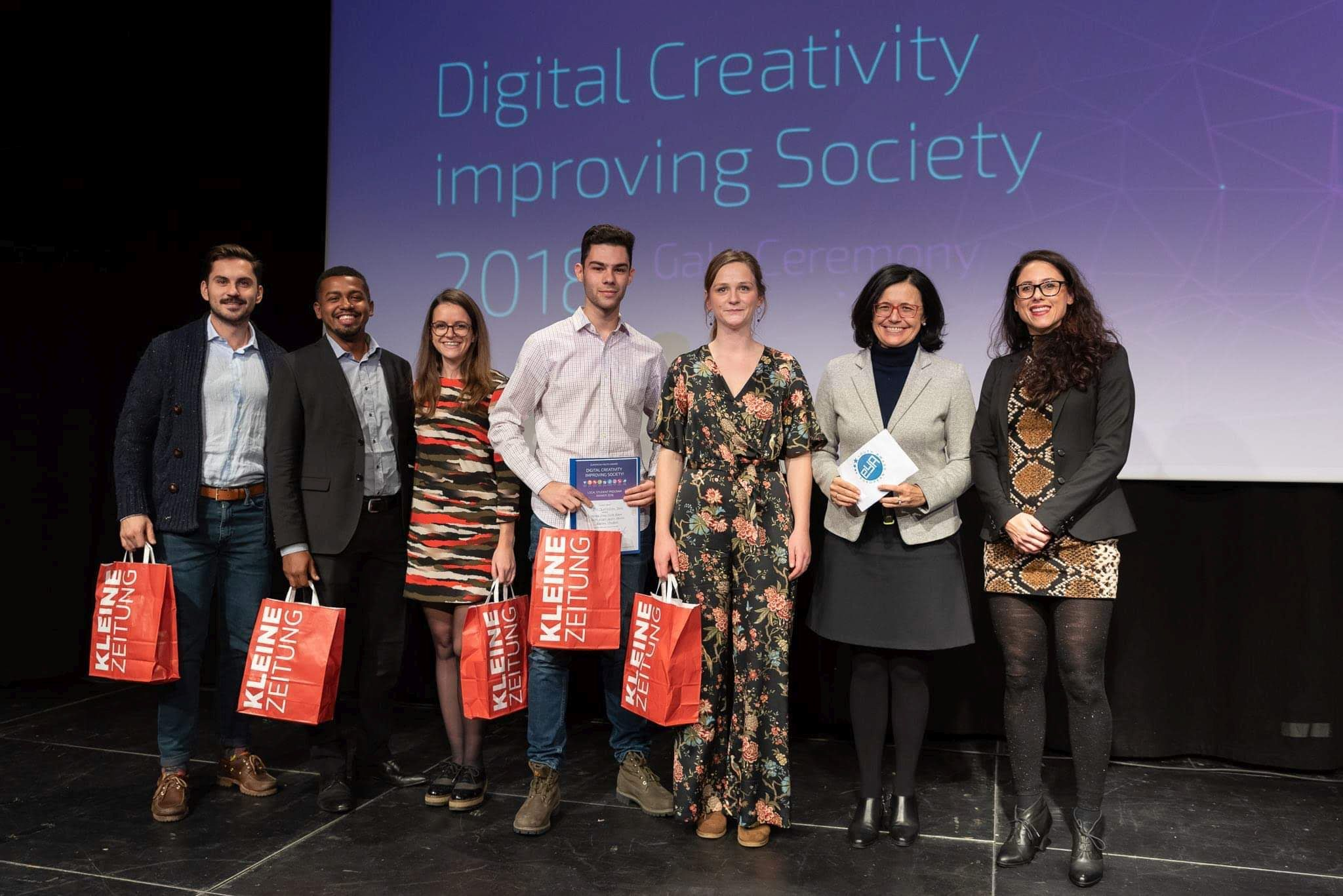 Award Ceremony EYA2018