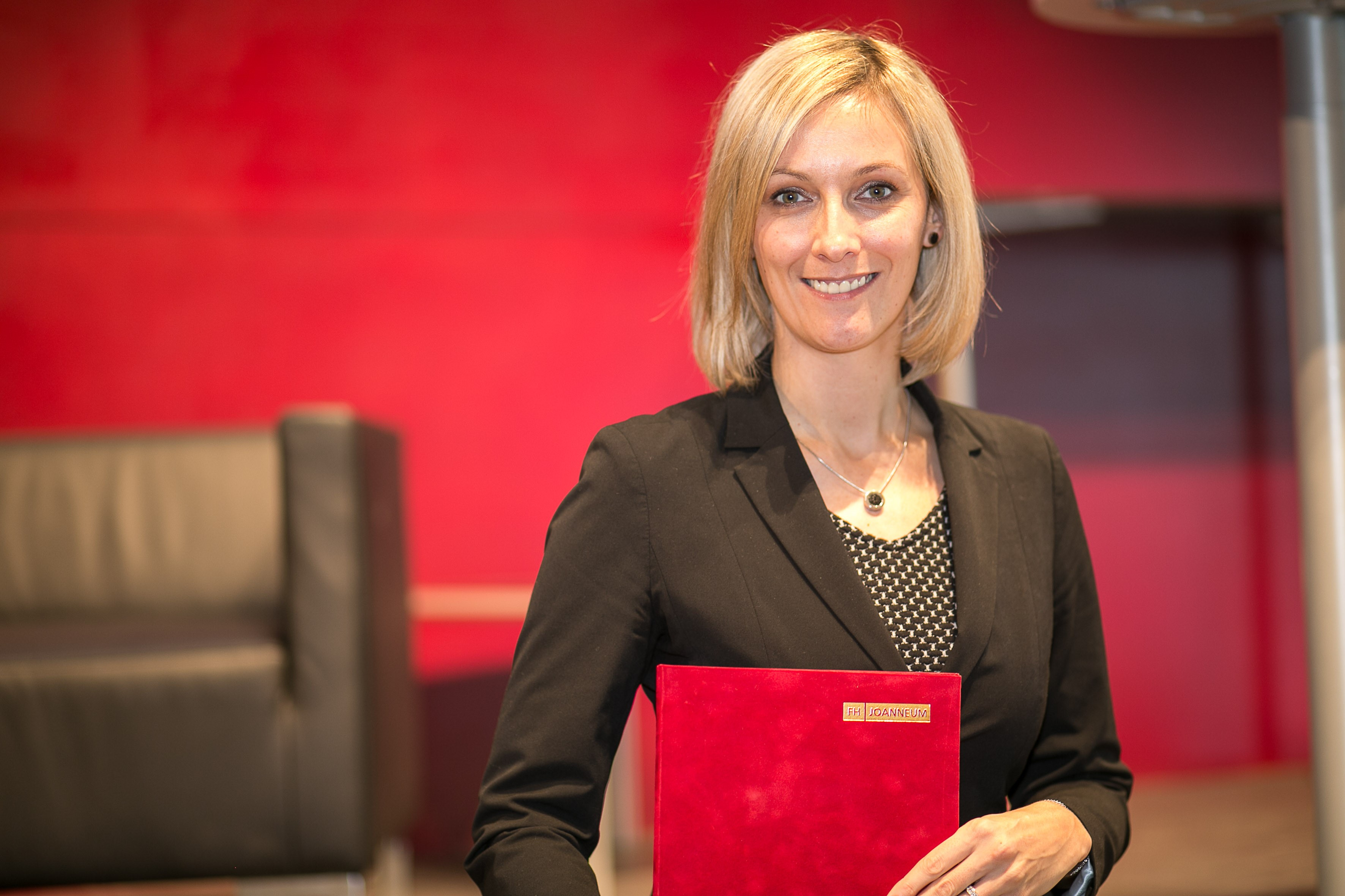 Magdalena Brunnhofer hat den Teaching Award 2018 bekommen.