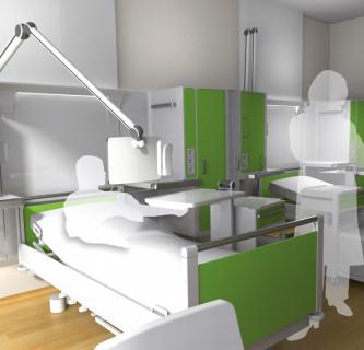 MODULAR SYSTEM / Patientenzimmer