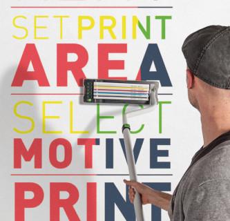 PRINTTEX / Mobiler Wanddrucker