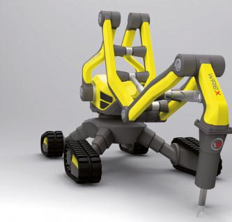 WREX / Abriss-Roboter
