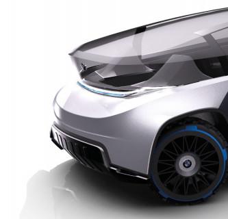 BMW X BASE / Automatisches Fahren