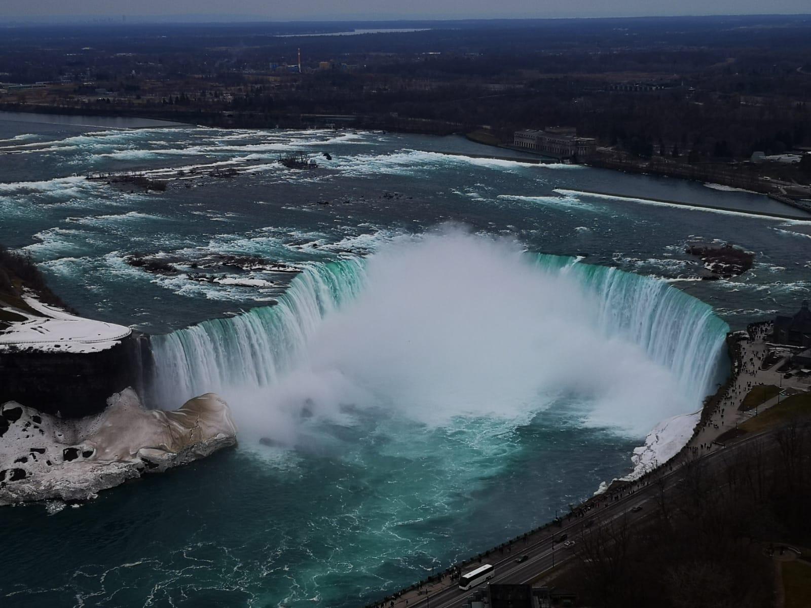 Blick auf die Niagarafälle