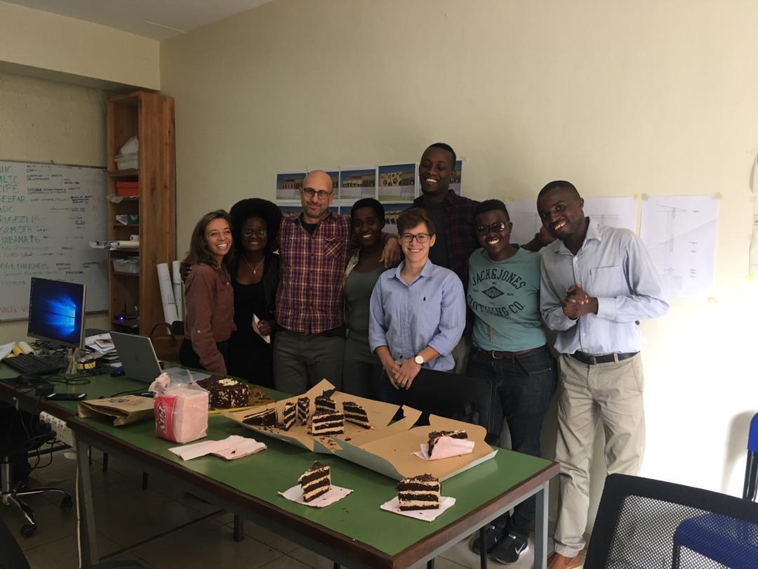 Das Team von GA Collaborative (Kalifornien, Ruanda, Österreich).