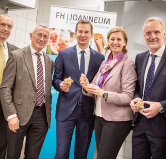 Neues Food Processing Lab an der FH JOANNEUM
