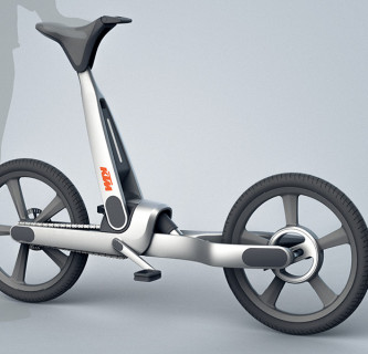 KTM CYC / Freihändiges Fahrradfahren
