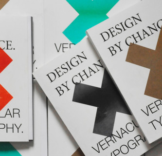 Design by chance | Vernacular typography