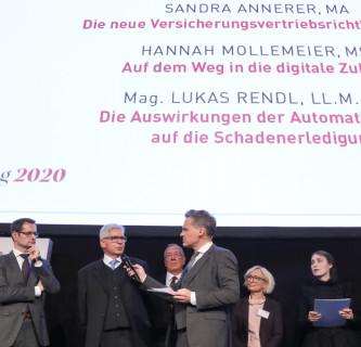 Hammurabi Anerkennungspreis für BVW Absolventin Sandra Annerer 2