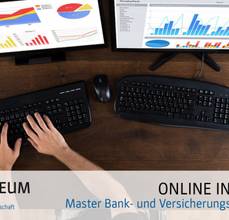 Online Info-Abend zum berufsbegleitenden Masterstudium Bank- und Versicherungsmanagement