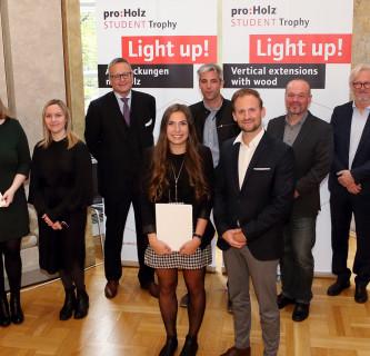Erster Platz bei proHolz Student Trophy 2020 3