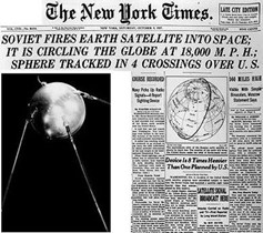 Sputnikkrise im Jahr 1957