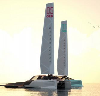 Volkswagen Hybrid Sailing / Autonomes Reisefahrzeug