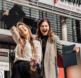 FH JOANNEUM mit Rekord an Absolventinnen und Absolventen