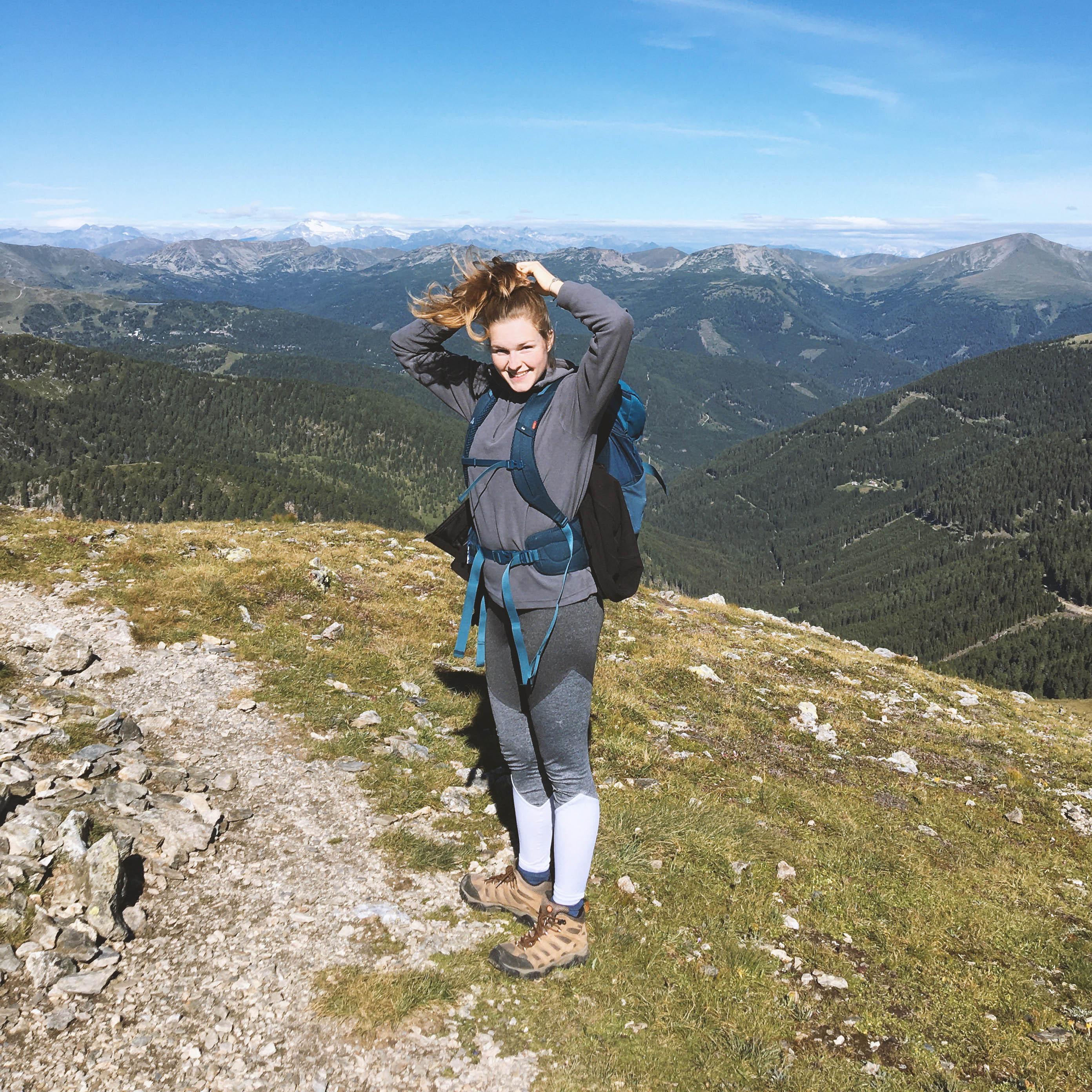 Franziska blickt mutig in die Zukunft: Sie will hoch hinaus!