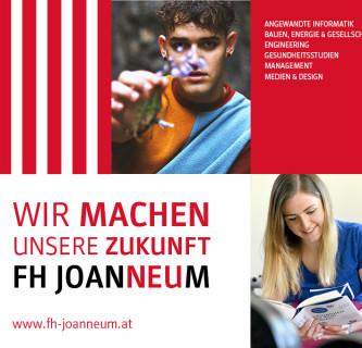 Wir sind FH JOANNEUM! Studierende und Lehrende übernehmen die Social-Media-Kommunikation der Hochschule
