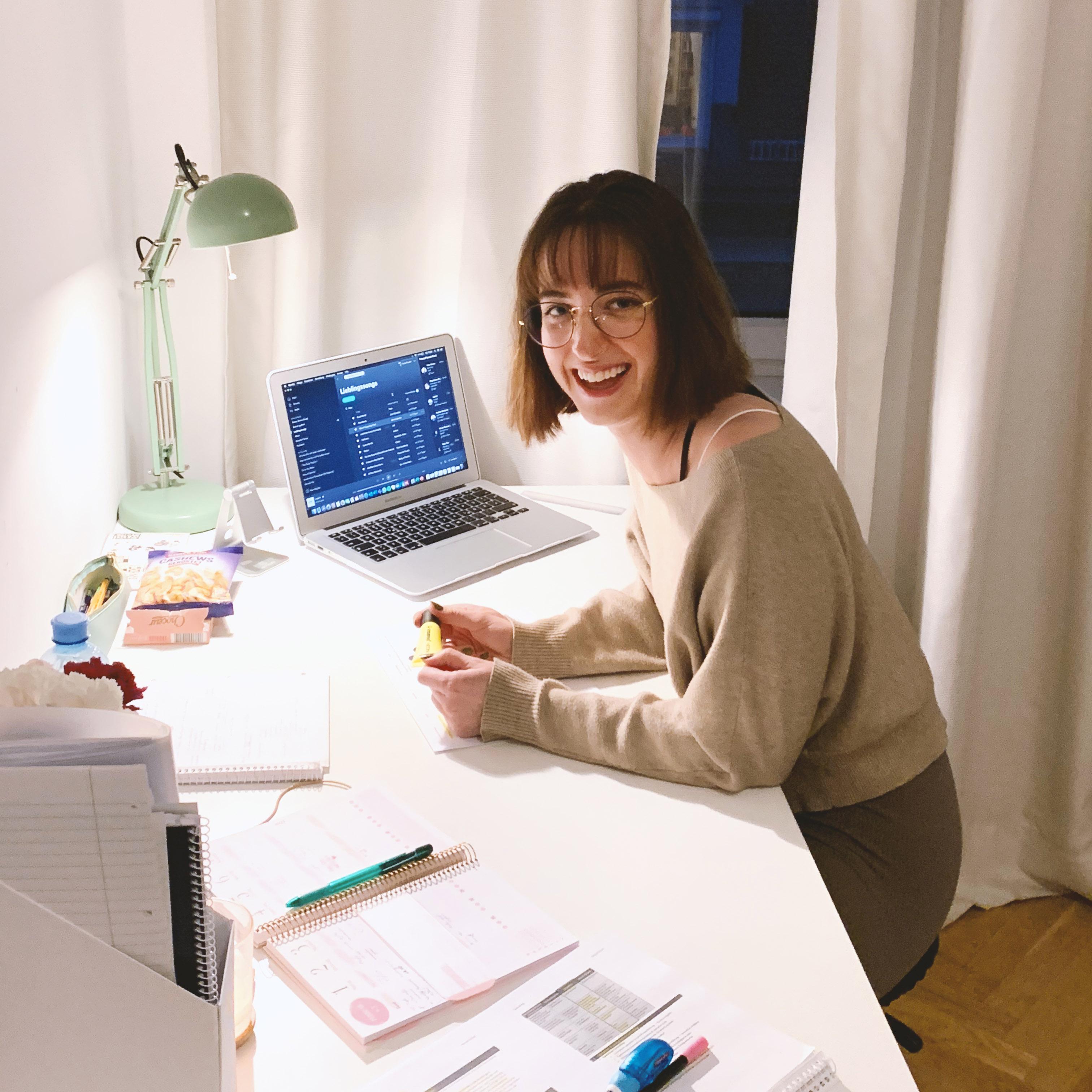 Anna musste ihr Auslandssemester wie die meisten anderen Studierenden online absolvieren.