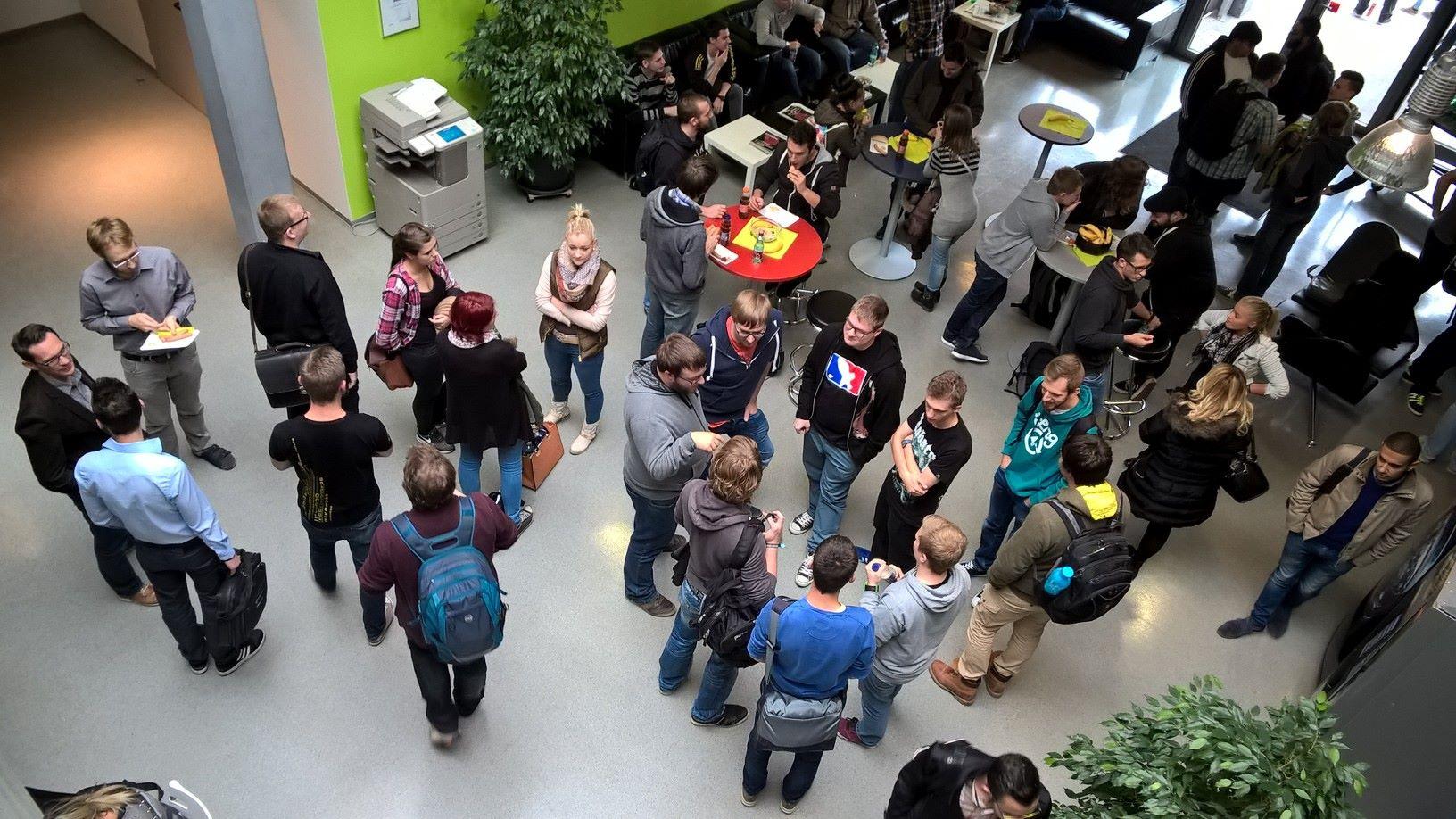 ITM Get-together Veranstaltung 2015 - 3 Jahrgänge starten ins Semester