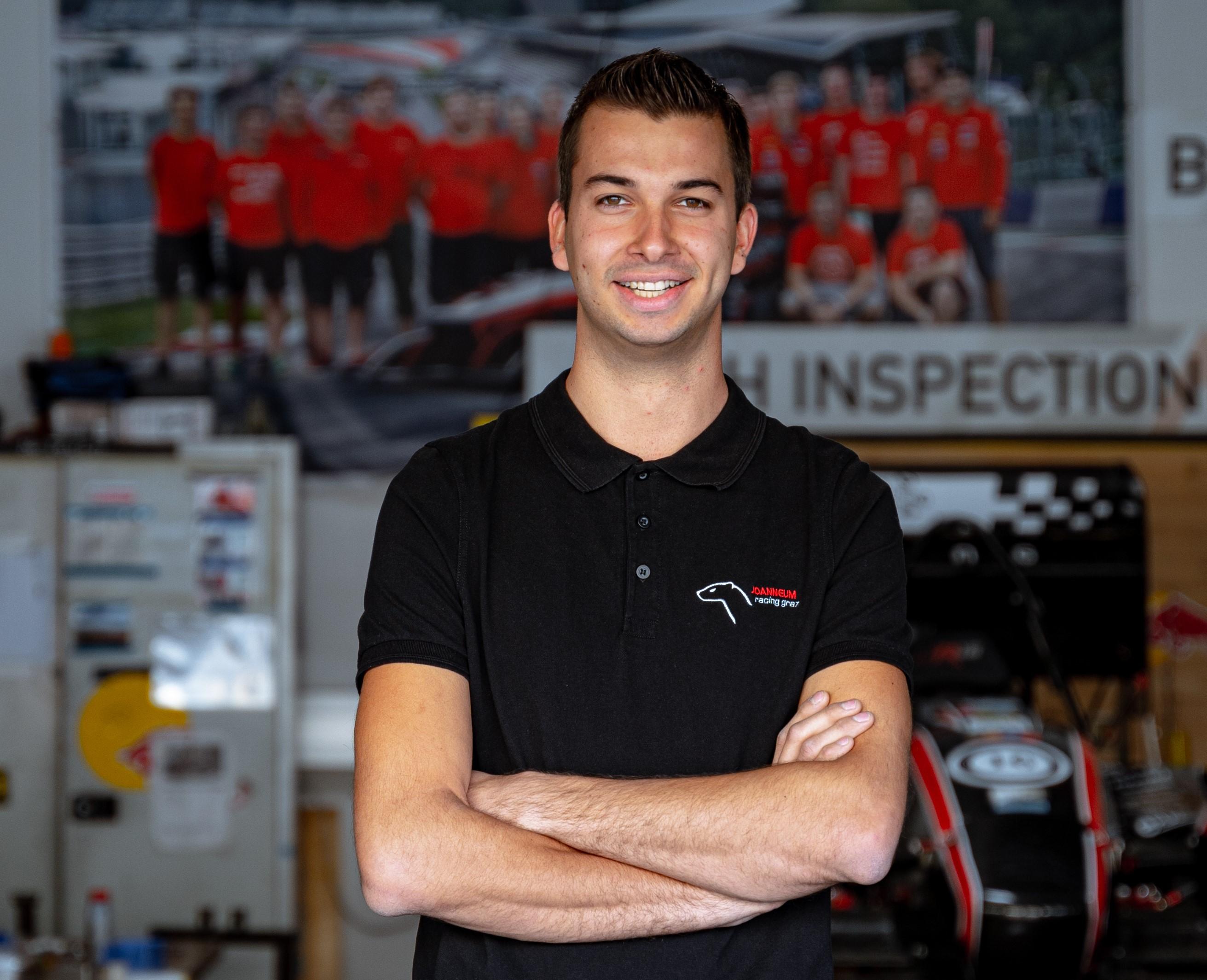Stefan Geyer betreut das Manufacturing-Department.