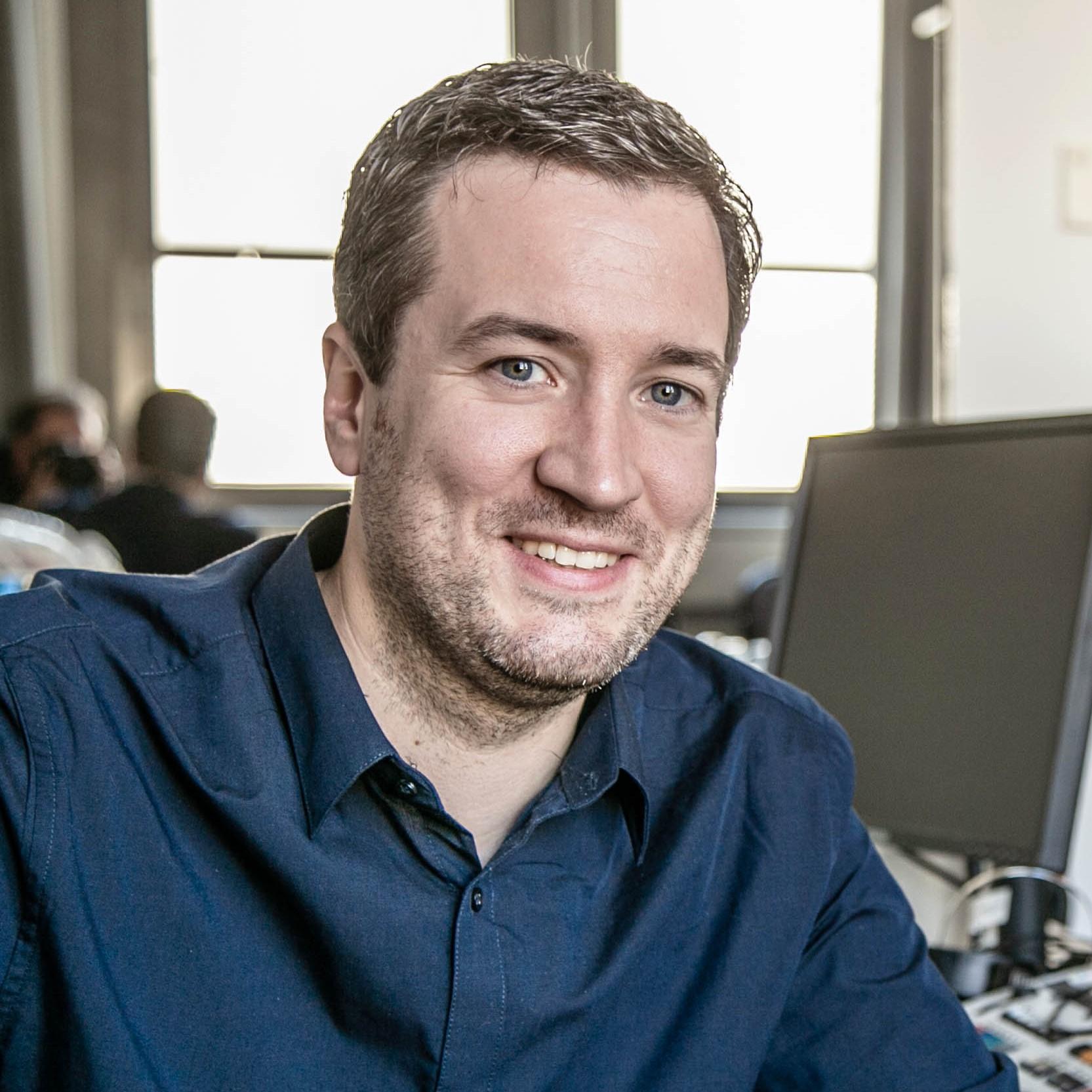 Robert Darkow leitet das Institut Logopädie.