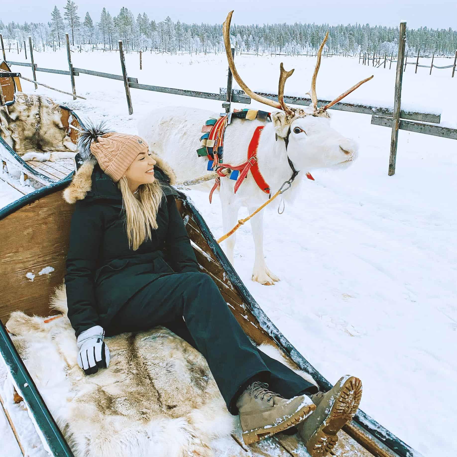 Nina absolvierte ein Auslandssemester in Finnland.