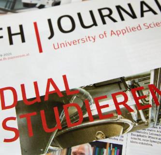 Ein FH Journal über dual Studieren an der FH JOANNEUM