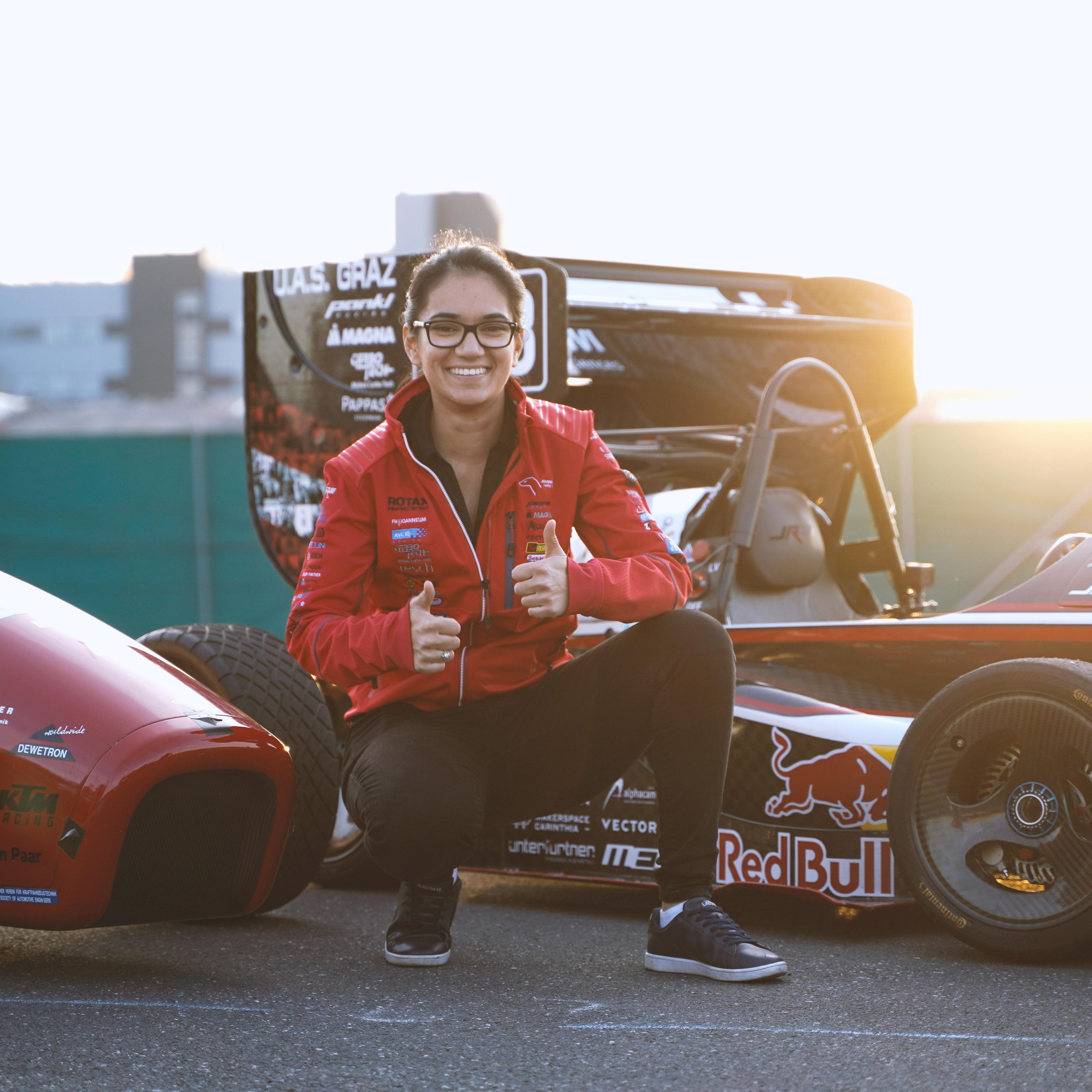 Seit 2019 ist Sushama Team Captain von joanneum racing graz.