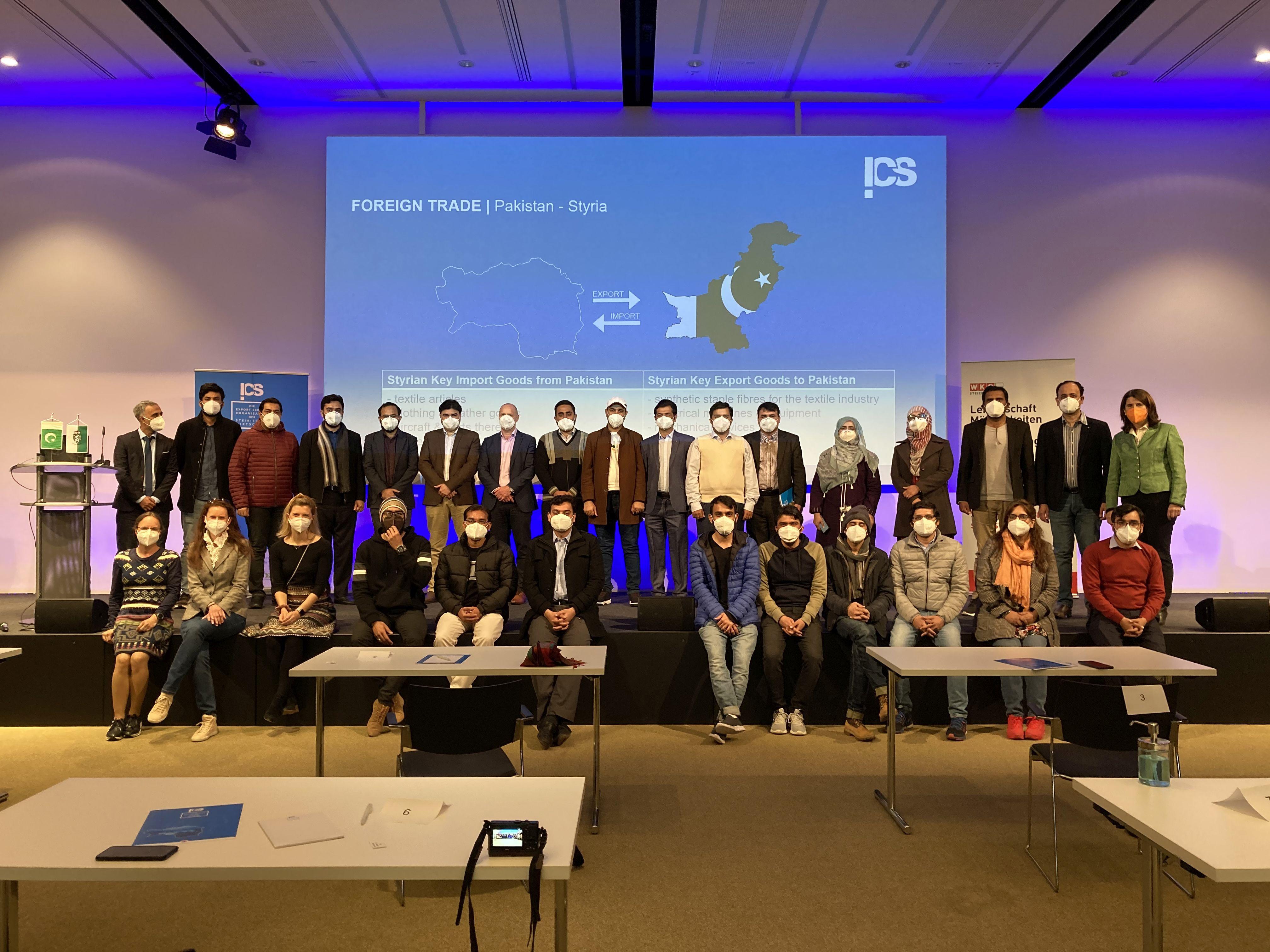 Die FH JOANNEUM und die Pak-Austria Fachhochschule tauschen sich intensiv aus.