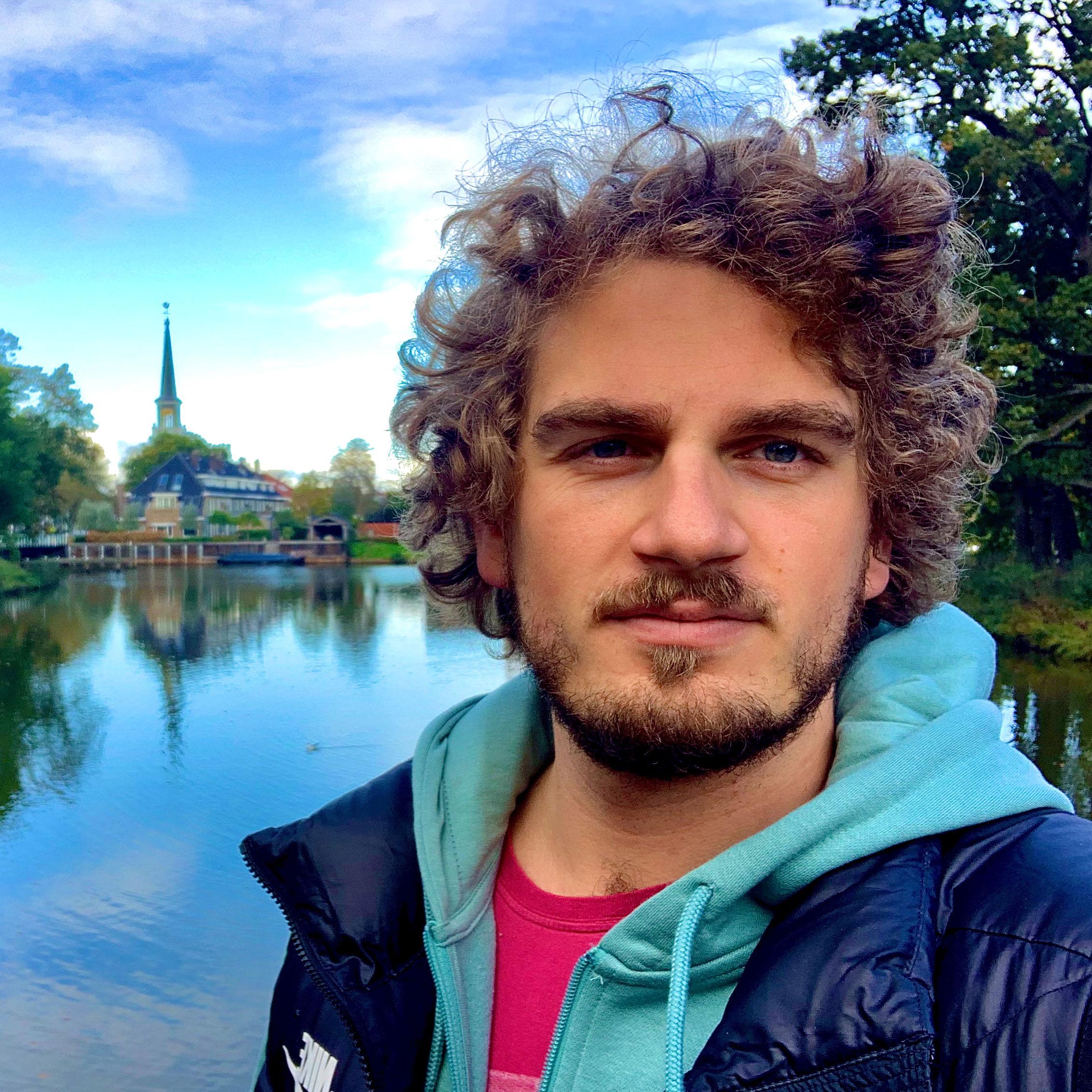 Christoph absolvierte ein Auslandssemester in den Niederlanden.