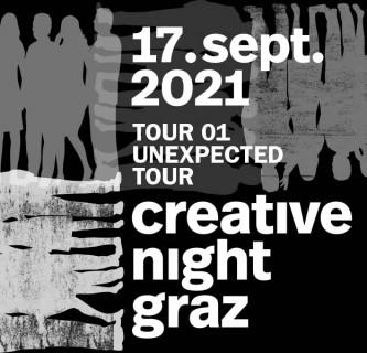 Creative Night Tour TOUR 01: Unexpected Tour
