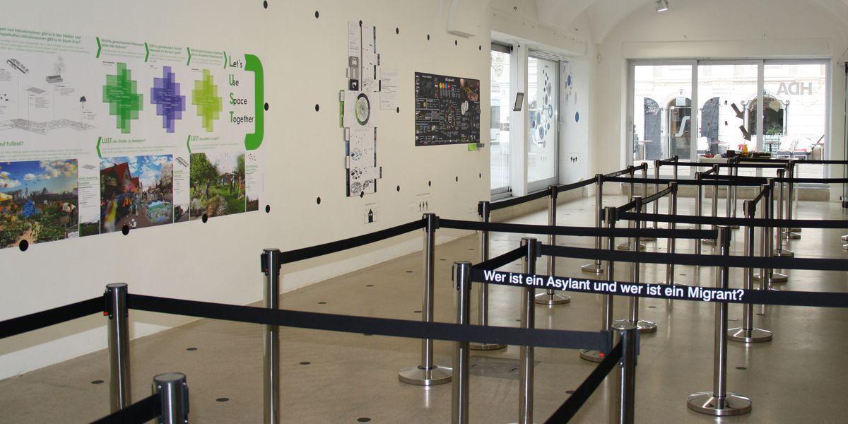Die Ideen werden im Haus der Architektur ausgestellt.