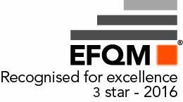 "EFQM Level ""Recognised for Excellence"""