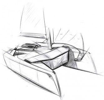 Der Designprozess des Projekts verfolgt das Ziel, Visionen der Yacht der Zukunft für den Zeithorizont bis 2025 zu entwickeln.