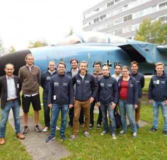 """Exkursion von """"Luftfahrt / Aviation"""" nach Süddeutschland."""