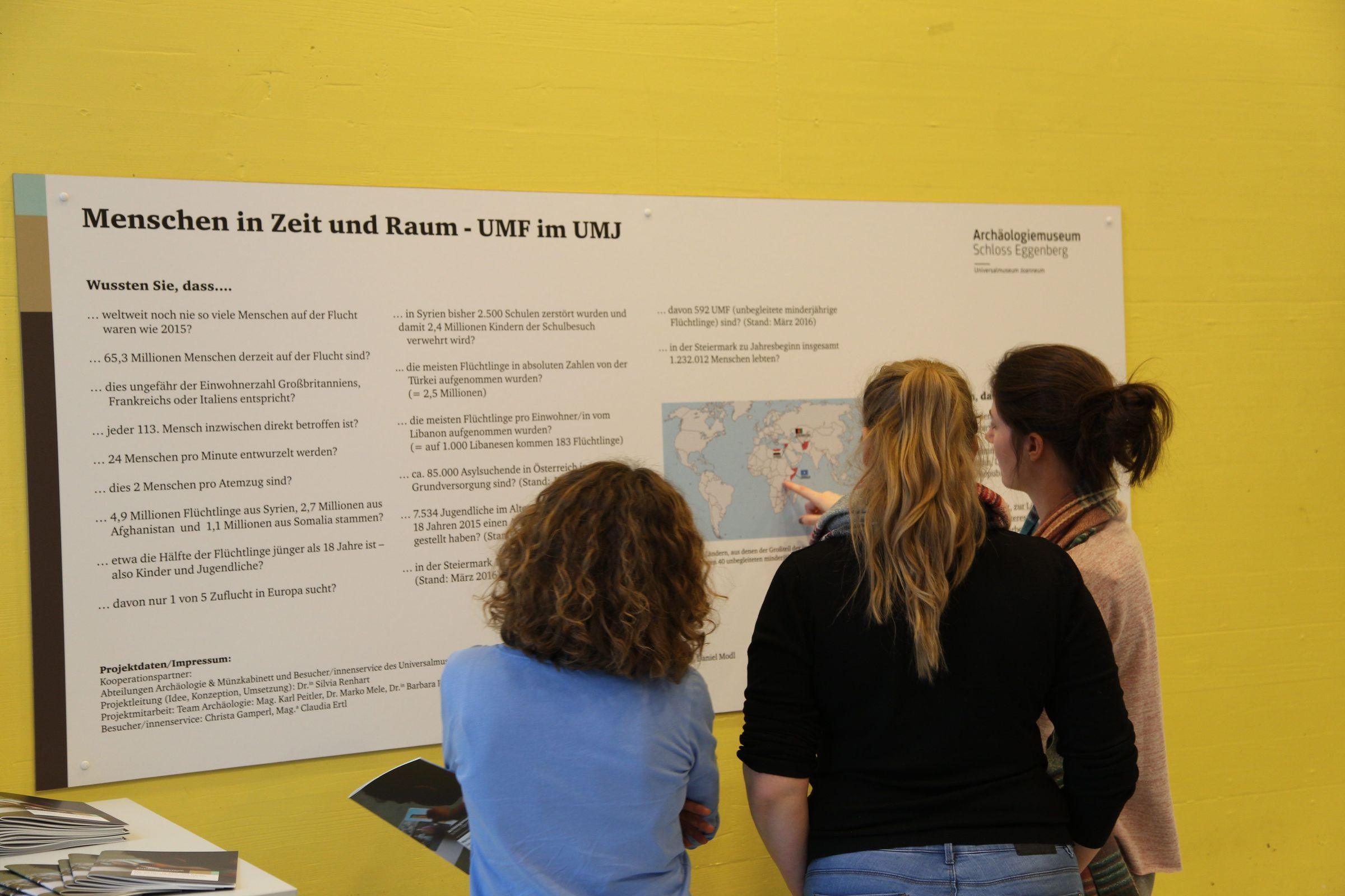 Die Ausstellung ist in der Eggenberger Allee 11 am Campus der FH JOANNEUM in Graz zu sehen.